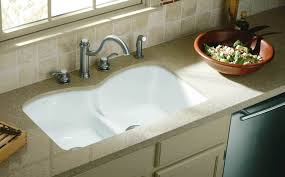 bathroom wonderful kohler sinks plus modern faucet plus tile wall