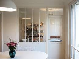 verriere interieur cuisine aménager une cuisine une verrière pour séparer sans cloisonner
