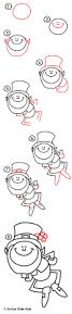 how to draw a leprechaun art for kids hub