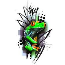 green tree frog 3d frog ideas