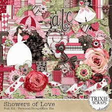 wedding scrapbook supplies of digital scrapbooking kit wedding bridal bachelorette
