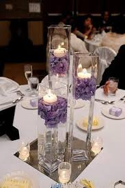 Wedding Candle Holders Centerpieces by 5pc Transparent Floating Glass Candle Holder Candle Not Included