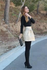 30 ways to wear metallic skirts 2017 fashiontasty com
