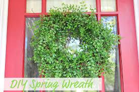 ten june diy spring wreath