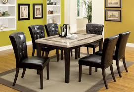 Dining Tables With Marble Tops Montreal Collection Marble 40 Pub Table Dining Rooms