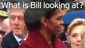 bill clinton caught u0027checking out ivanka trump u0027 by wife hillary
