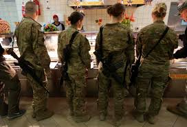 military thanksgiving soldiers celebrate thanksgiving in afghanistan