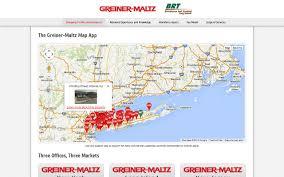 Long Island New York Map by Greiner Maltz Custom Map App Proposal Generator Portfolio