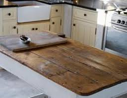 Kitchen Island Made From Reclaimed Wood Reclaimed Wood Countertop Countertops Twenty Century And