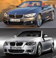bmw 3 series e93 convertible f33 4 series and e93 3 series convertibles visually compared