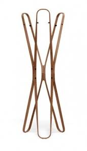 freestanding coat rack foter free standing racks wood contemporary