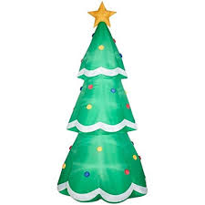 amazon com airblown inflatable 10ft giant christmas tree by