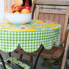 Tablecloth For Patio Table by I Would Really Like A Nice Wipe Down Oilcloth Tablecloth This