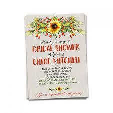 wildflower bridal shower invitation wedding shower invitation