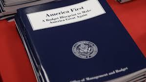 full text of president trump u0027s 2018 budget blueprint npr