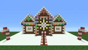 Christmas House by Minecraft Tutorial How To Make A Christmas Themed House 2 Now