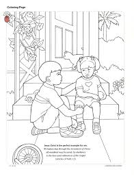 lds coloring pages i can be a good exle lds friend coloring pages lds primary activity from the september