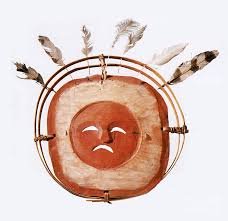 moon mask inuit moon mask photograph by photo researchers