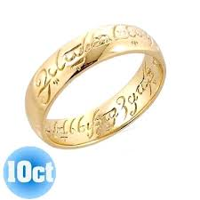 wedding band inscription lord of the rings wedding bands m lord of the rings wedding band