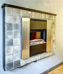 modern alternative to fireplace thin electrical fireplace with