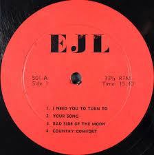 Country Comfort Elton John John Elton The Amazing Kornyfone Label