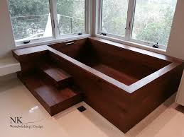wooden bathtub wood bathtubs wooden bath sculpture by nk woodworking seattle