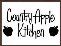 Country Apple Decorations For Kitchen - country apple decor apples personalized magnets kitchen whimsical