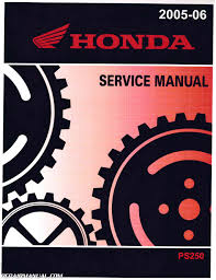 honda jazz scooter manual pdf