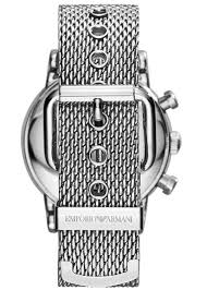 steel bracelet strap images Emporio armani men 39 s chronograph watch ar1811 knight jewellers jpg