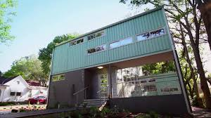 modern shipping container home video hgtv