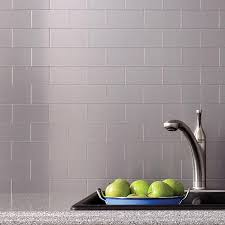 aspect peel and stick metal backsplash tiles learn more