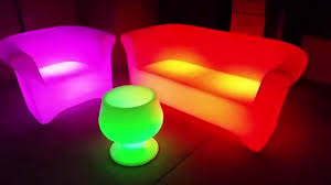 led light up furniture nightclub furniture glow furniture