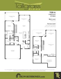 tgr a floor plan u2013 dilworth quality homes