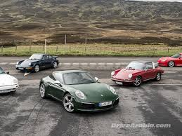 First Drive 2017 Porsche 911 1 000 000 And 911 Classics In