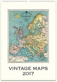 cavallini calendars cavallini vintage calendar 2017 the map room