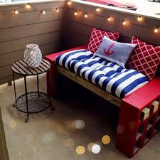 cinder block bench furniture ideas with round table and cushion