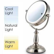 Makeup Light Mirror Amazon Com Ovente Make Up Mirror Lighted Battery Or Cord