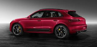 porsche red paint code porsche exclusive unveils macan turbo with impulse red metallic