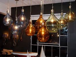 Colored Glass Pendant Lights Vintage Industrial Glass Pendant Lights Hudson Goods Blog