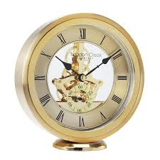 Mantel Clocks London Clock Silver Round Skeleton Mantel Clock Amazon Co Uk