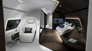 Private Jet Interiors Mercedes Goes In The Air For The Modern Jet Setters Trendland