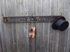 Woods Vintage Home Interiors Railway Hat And Coat Hook Board By The Station Pinterest