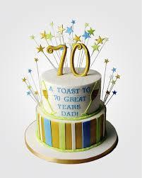 70th birthday cakes 70th birthday cake cm6572 panari cakes