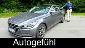hyundai genesis test hyundai genesis luxury sedan review test driven 2016