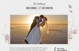 le site du mariage tutoriel pour créer un site de mariage avec