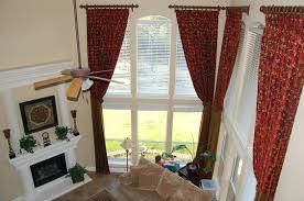 Curtain Hanging Ideas Curtain Hanging Ideas Window Shower For Bay Windows Acttickets Info