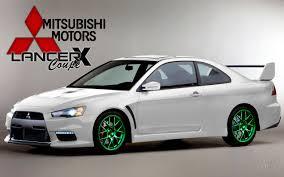 mitsubishi evo concept evo x coupe concept by horizonpl on deviantart