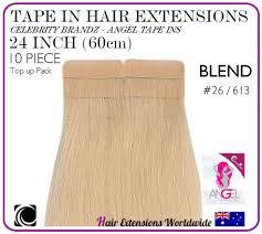 angel hair extensions 24 60 cm golden light 26 613
