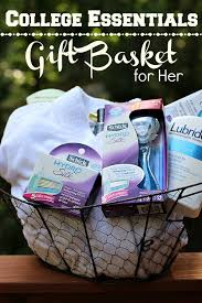 gift baskets for college students diy college essentials gift basket for college basket ideas