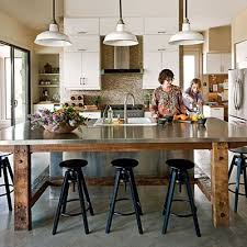 kitchen table island kitchens without islands